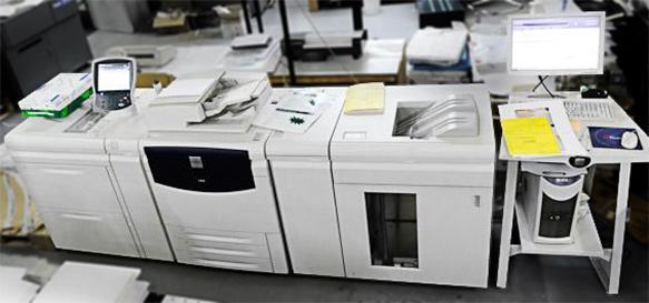Imprimerie presse numérique petite et moyenne quantité avec court délais Promoprint Paris 18