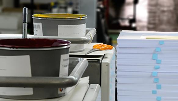 Imprimerie presse offset tirage grande quantité haute qualité Promoprint Paris 18